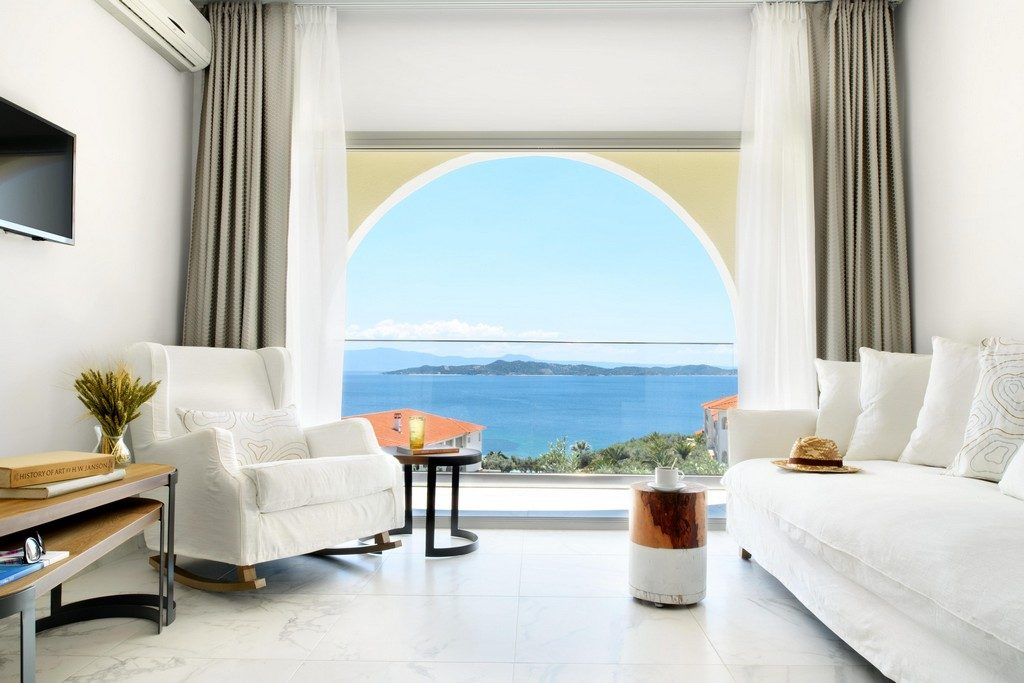 Romantic Loft Σουίτα Με Πανοραμική Θέα Στην Θάλασσα